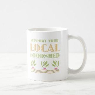 Apoye su Foodshed local Taza De Café