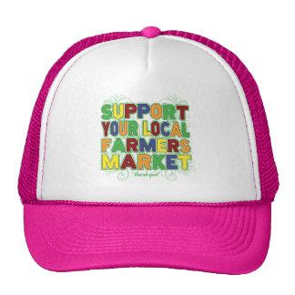 Apoye su mercado local de los granjeros gorra