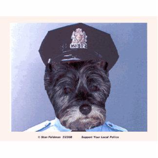 Apoye su policía local del oficial B.J. Llavero Fotográfico