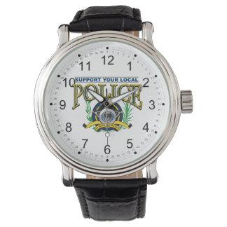 Apoye su policía local reloj