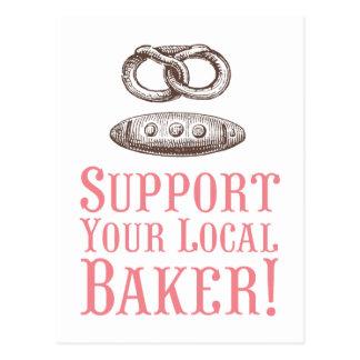 Apoye su postal local del panadero