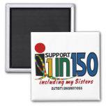 Apoyo 1 en 150 y mi CONCIENCIA del AUTISMO de las  Imanes De Nevera