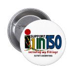 Apoyo 1 en 150 y mi CONCIENCIA del AUTISMO de los  Pins