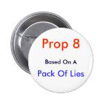 Apoyo 8, sobre la base de A, paquete de mentiras - Pins
