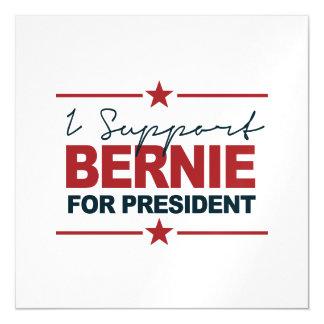 Apoyo a Bernie para el presidente firma 2016