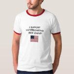 Apoyo a Dick Cheney waterboarding Playeras