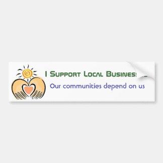 Apoyo a empresas de la comunidad pegatina para auto