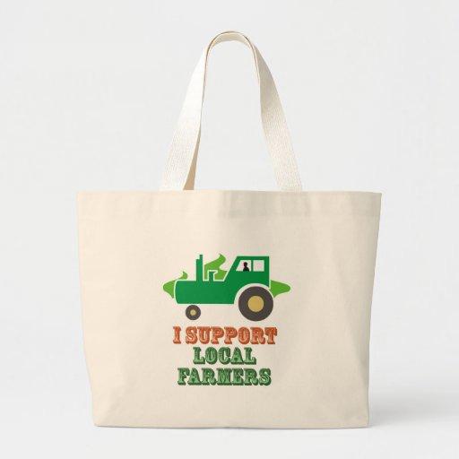 Apoyo a granjeros locales bolsa
