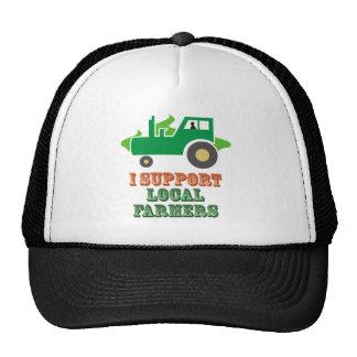 Apoyo a granjeros locales gorros