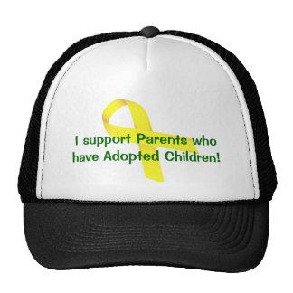 ¡Apoyo a los padres que han adoptado a niños! Gorra