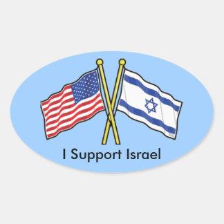 Apoyo a los pegatinas de Israel