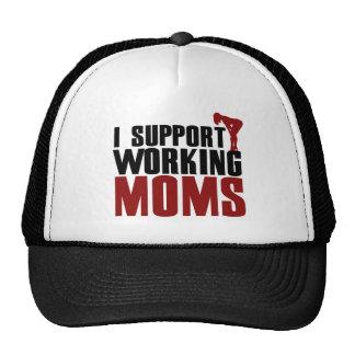 Apoyo a mamáes de funcionamiento gorras de camionero