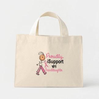 Apoyo a mi cáncer de pecho de la nieta SFT T-Shi Bolsas