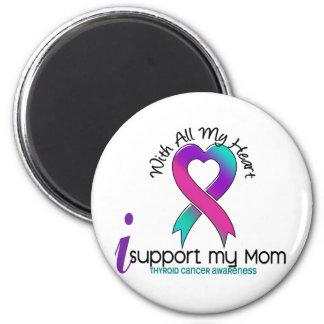 Apoyo a mi cáncer de tiroides de la mamá imán de frigorífico