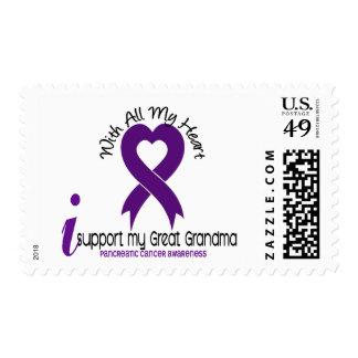 Apoyo a mi cáncer pancreático de la gran abuela franqueo