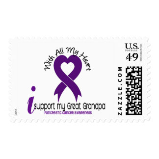 Apoyo a mi cáncer pancreático del gran abuelo franqueo