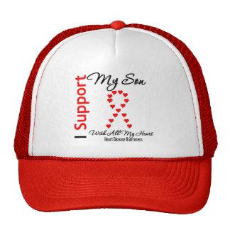 Apoyo a mi hijo - enfermedad cardíaca gorras de camionero