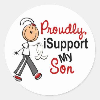 Apoyo a mi hijo SFT (el cáncer del hueso/de Etiqueta Redonda