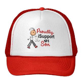 Apoyo a mi hijo SFT (el cáncer del hueso/de pulmón Gorras
