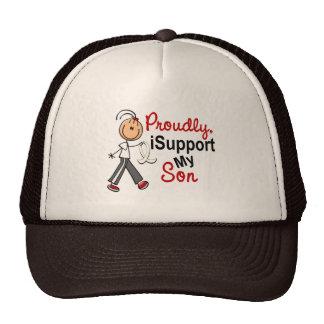 Apoyo a mi hijo SFT (el cáncer del hueso/de pulmón Gorro