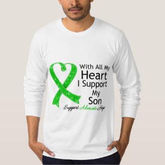 Apoyo a mi hijo todo mi corazón playera