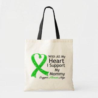 Apoyo a mi mamá con todo mi corazón bolsa tela barata