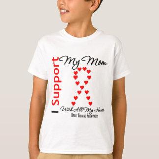 Apoyo a mi mamá - enfermedad cardíaca poleras