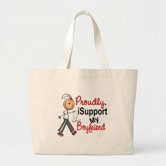 Apoyo a mi novio SFT (el cáncer del hueso/de pulmó Bolsa De Mano