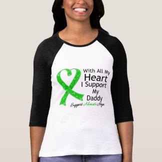 Apoyo a mi papá con todo mi corazón camiseta