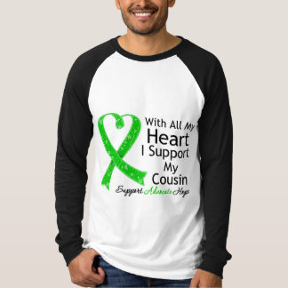Apoyo a mi primo con todo mi corazón playera