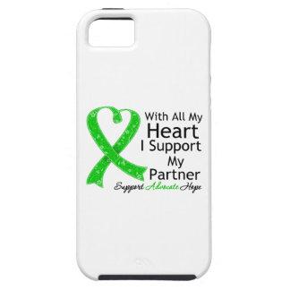 Apoyo a mi socio con todo mi corazón iPhone 5 protectores