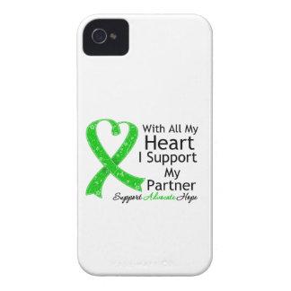 Apoyo a mi socio con todo mi corazón iPhone 4 coberturas