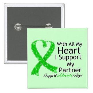 Apoyo a mi socio con todo mi corazón pin