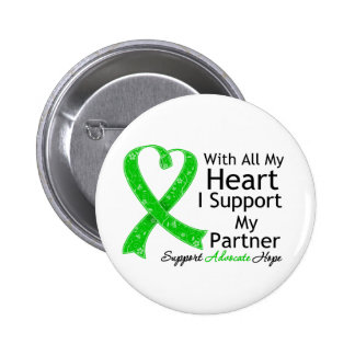 Apoyo a mi socio con todo mi corazón pins