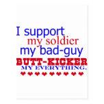 Apoyo a mi soldado, postal