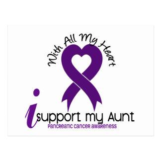 Apoyo a mi tía cáncer pancreático postal