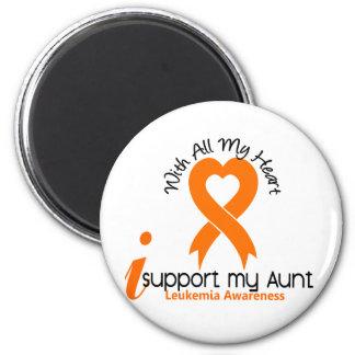 Apoyo a mi tía Leukemia Imán Redondo 5 Cm