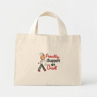 Apoyo a mi tía SFT (el cáncer del hueso/de pulmón) Bolsas De Mano