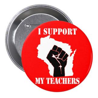 Apoyo a mis profesores pin