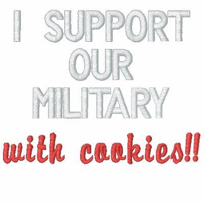 ¡Apoyo a nuestros militares con las galletas!! Capuchas Bordadas