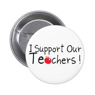 Apoyo a nuestros profesores pins