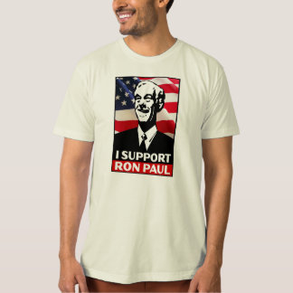 Apoyo a Ron Paul para el presidente en 2012 Playera