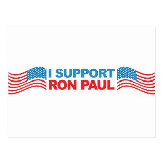 Apoyo a Ron Paul - presidente 2012 de la elección Postales