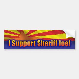 Apoyo al sheriff Joe - ayuda Arizona Pegatina Para Auto