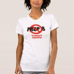 APOYO ANTI 8 - igualdad de la ayuda Camiseta