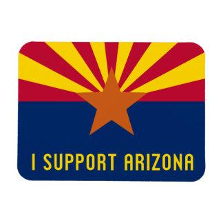 Apoyo Arizona Imán De Vinilo