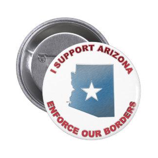 Apoyo Arizona Pin Redondo De 2 Pulgadas