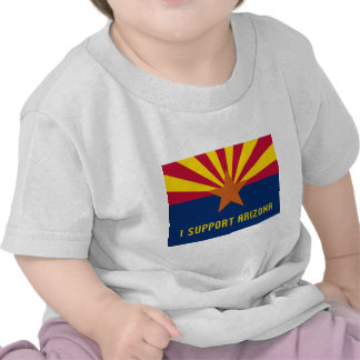 Apoyo Arizona Camiseta