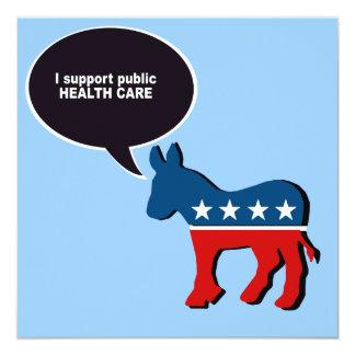 Apoyo atención sanitaria pública comunicado