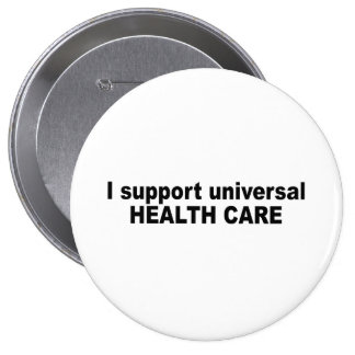 Apoyo atención sanitaria universal pin
